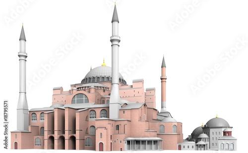 Stampa su Tela Hagia Sophia in Istanbul