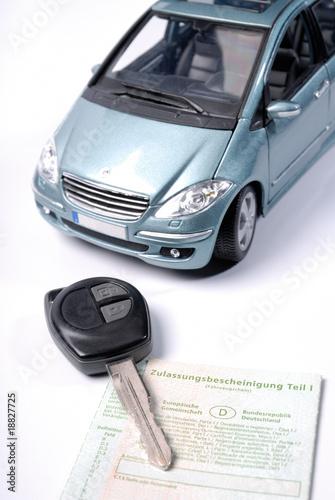 Photo  Fahrzeug-Zulassung