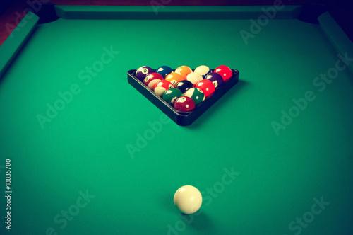 Wallpaper Mural Billiard pool