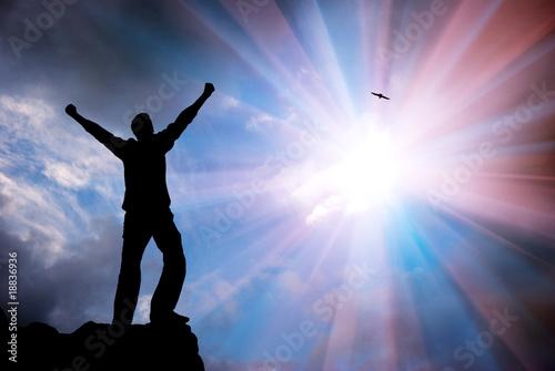 Photo  Worship to God