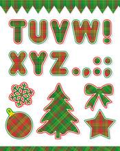 Christmas Alphabet Set, Part 2, Pair To Image 18834061