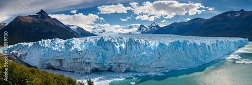 Fényképezés  Perito Moreno Glacier, Patagonia, Argentina - Panoramic View