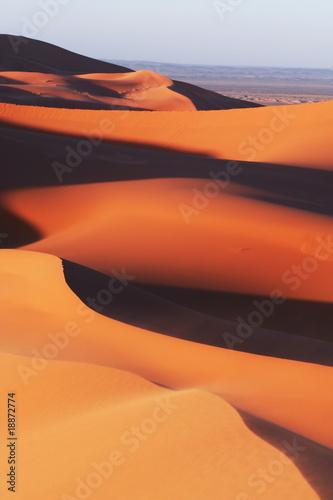 Deurstickers Marokko Desert