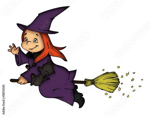 Fotografía  Hexe, Witch, Halloween, Karneval, Fasching, Verkleidung