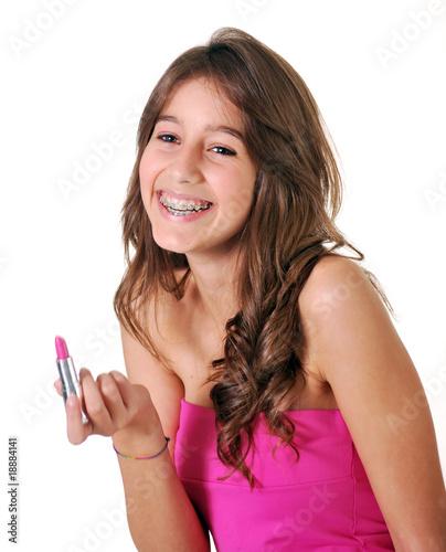 Photo  sonrisa adolescente