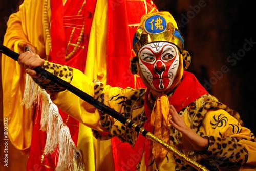 In de dag Aap china Opera Monkey King