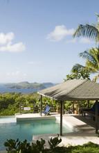 Caribbean Island Villa Pool Wi...