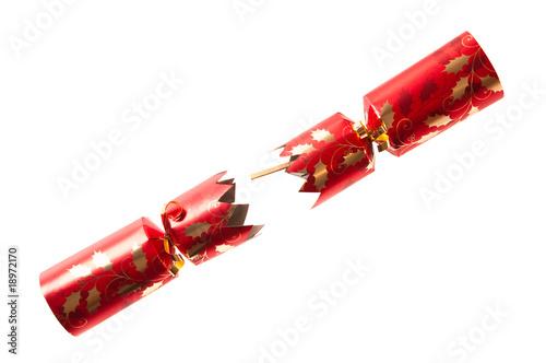 Fotografie, Obraz  Pulled Christmas Cracker