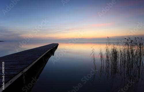 Foto-Leinwand - Horizontblick (von Gerhard Wanzenböck)