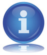 Info Button (i - Information - Sign - Help - Support - Vector)