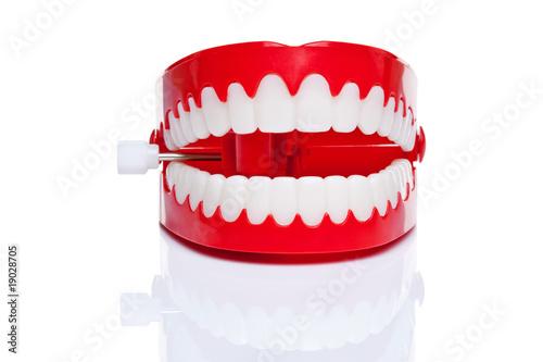 Fotografija Chattering teeth