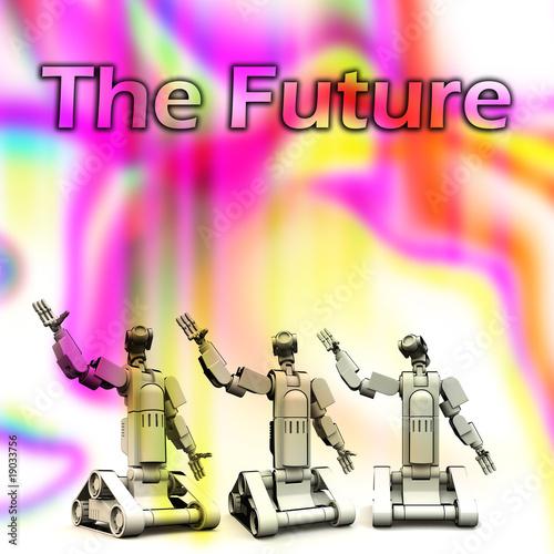 Fotografie, Obraz  The Future Of Robotics