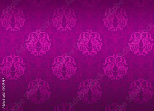 Luxury violet ornamental pattern