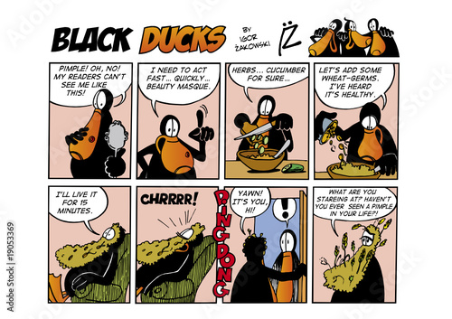 Wall Murals Comics Black Ducks Comic Strip episode 37