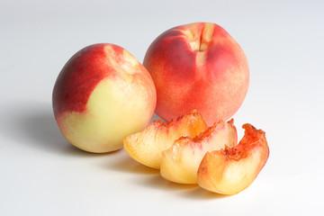 Fototapeta na wymiar The peachesfile