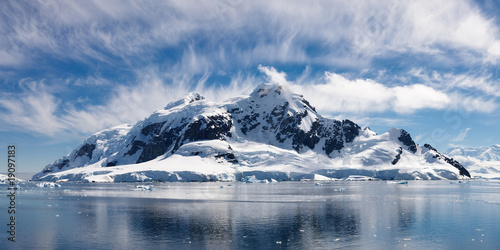 Canvas Prints Antarctic Paradise Bay, Antarctica - Majestic Icy Wonderland