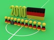 canvas print picture - Germany National Team