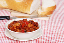 Hearty Chili Meal