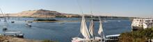 Verkehr Auf Dem Nil