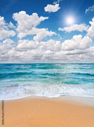 Photo Stands Landscapes beach and sea