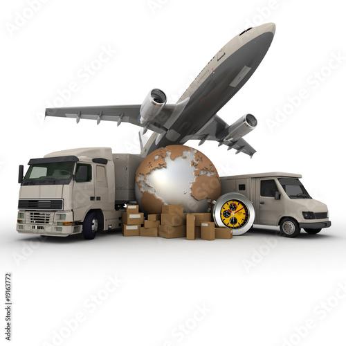 Fotografía  Transportation logistics