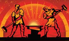 Blacksmiths Forge Metal