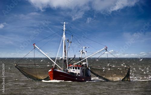 Foto op Plexiglas Noordzee Fischerboot