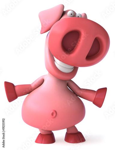 In de dag Boerderij Cochon rose