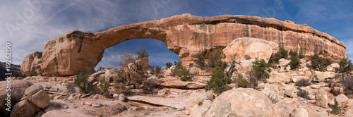 Wall Murals Natural Park Owachomo Bridge, Natural Bridges National Park