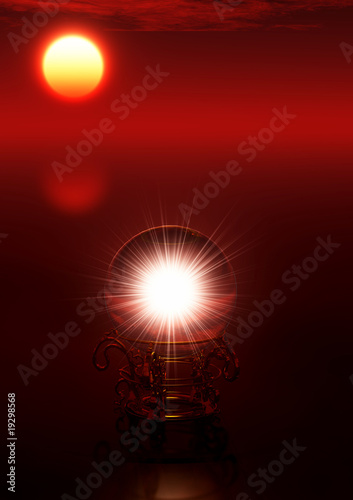 Akustikstoff - Mondschein Orakel