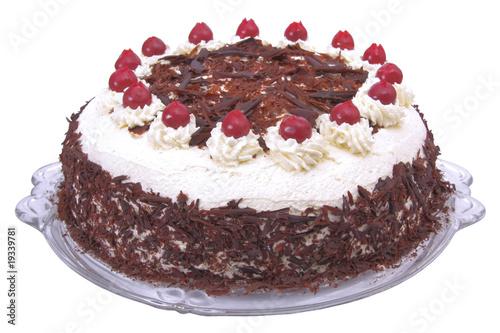 Fotografie, Obraz  Schwarzwälderkirschtorte, fancy cake