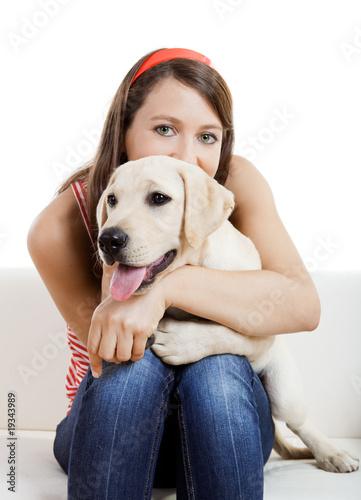 Fotografía  Girl with her best friend
