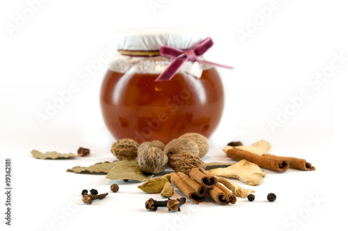 Spices and honey