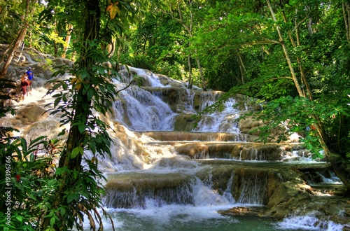 Foto  Jamaica - Dunn River Waterfalls (Landmark)