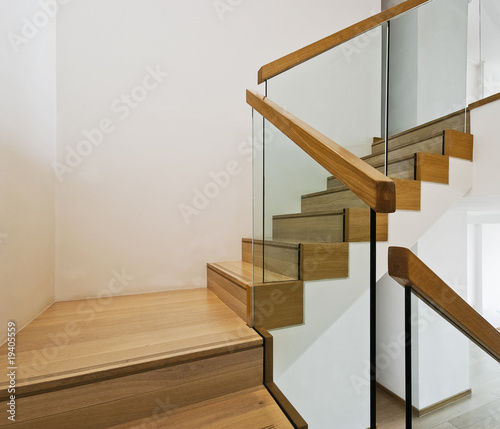 Photo sur Toile Escalier luxury staircase