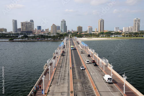 Photo  St. Petersburg from the Pier, Florida USA