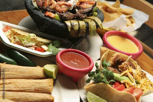 Fotografie, Obraz  Mexican Food - Horizontal