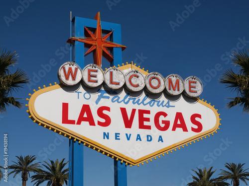In de dag Las Vegas Welcome to Las Vegas