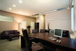 Beautiful and modern manager office interior design.