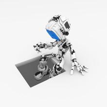 Blue Screen Robot, Pit