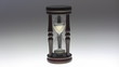 Old hourglass zoom out