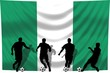Soccer- Fussball WM Team Nigeria