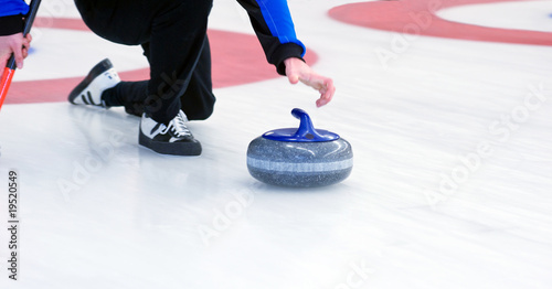 Fotografering Curling