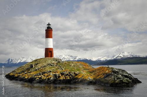 Garden Poster Lighthouse lighthouse on an island