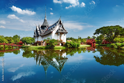 Photo  Sanphet Prasat Palace, Thailand