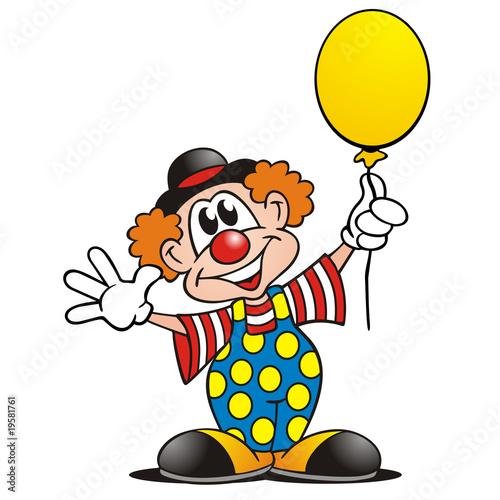 Clown Luftballon