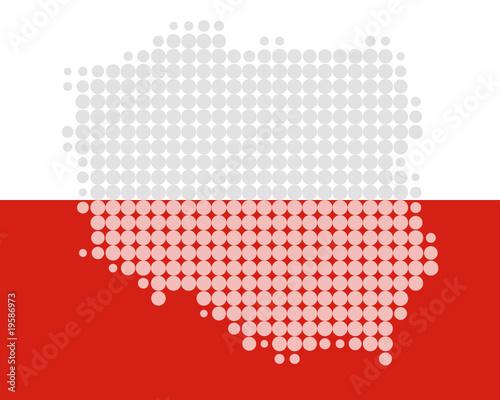 mapa-i-flaga-polski