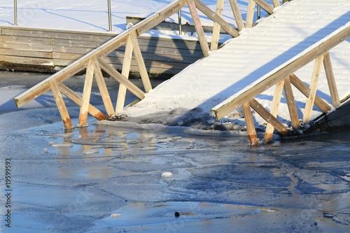 Die Eisbrücke Poster