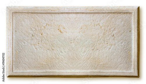 Photo sur Aluminium Cailloux cadre de pierre