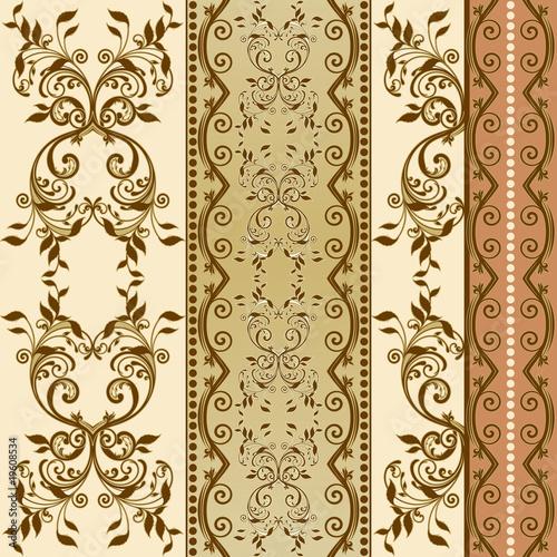 kwiatowe-dekoracyjne-wzory-w-barokowym-sztyletie-i-rokoko